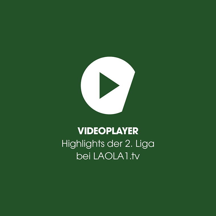 Videoplayer: 2. Liga LIVE bei LAOLA1.tv